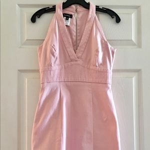 Adorable Pale Pink Mini Dress!